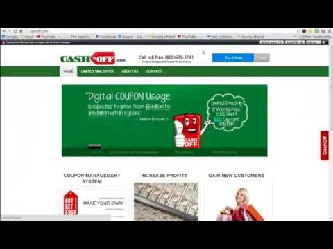 Free Coupon Template - make coupons for business - YouTube