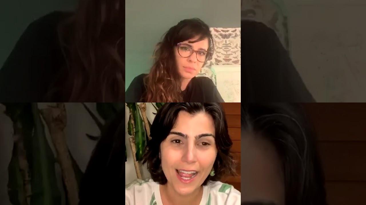 Isso não é Noronha: Manu na live da Maria Ribeiro