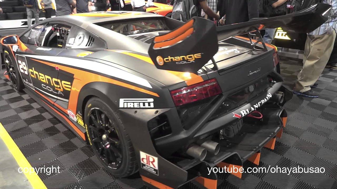 Lamborghini Gallardo Racecar Sema Youtube