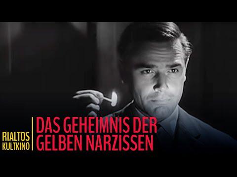 """Edgar Wallace: """"Das Geheimnis der gelben Narzissen"""" - Trailer (1961)"""