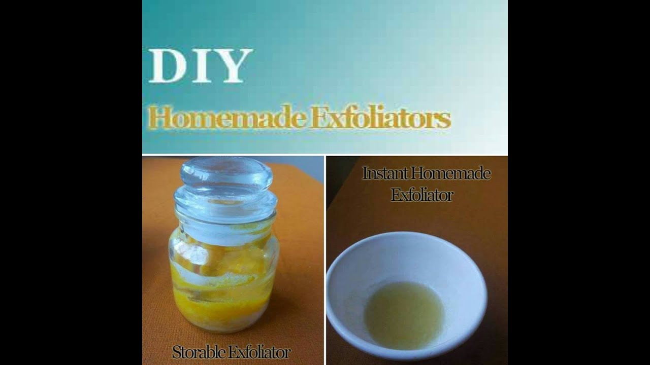 Homemade Face Scrub And Body Exfoliator  Scrub For Oily Skin  Exfoilator  For Dry Skin  Youtube