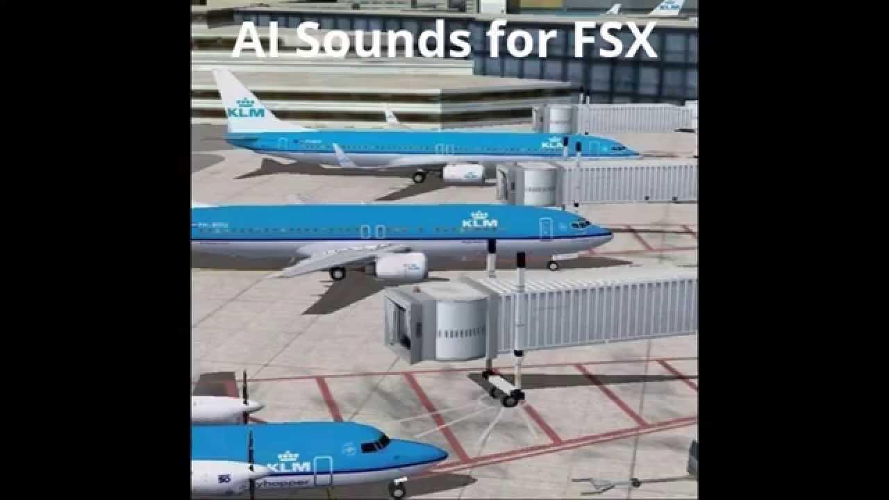 AI Sounds for FSX & P3D - Free Sound Addon
