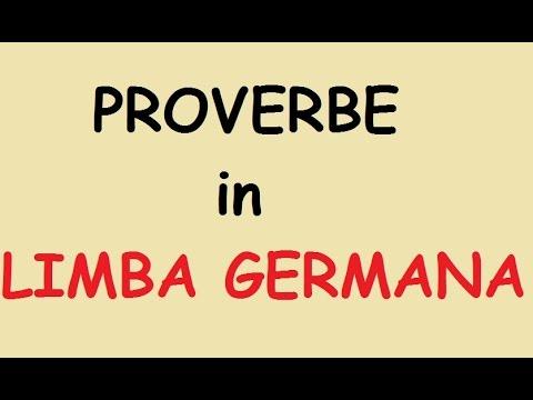 citate in germana Proverbe in Limba Germana   YouTube citate in germana