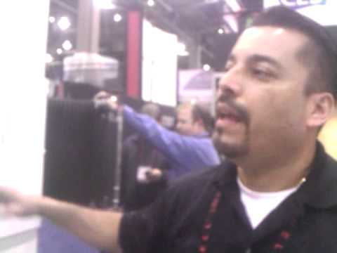 Wall Wizard Motorized Tv Mounts At Ces