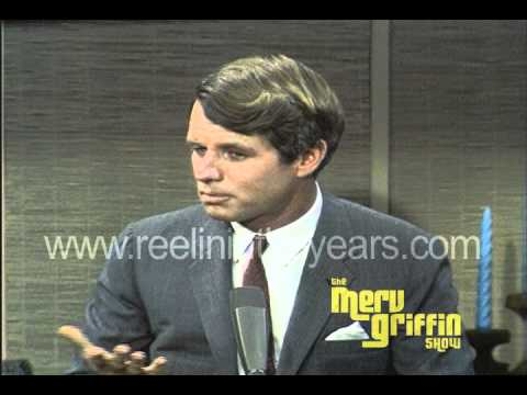 Sen. Robert F. Kennedy Interview- Civil Unrest, Vietnam (Merv Griffin Show 1967)