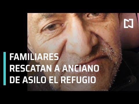 Familiares rescatan a anciano de asilo El Refugio en Tijuana - En Punto con Denise Maerker