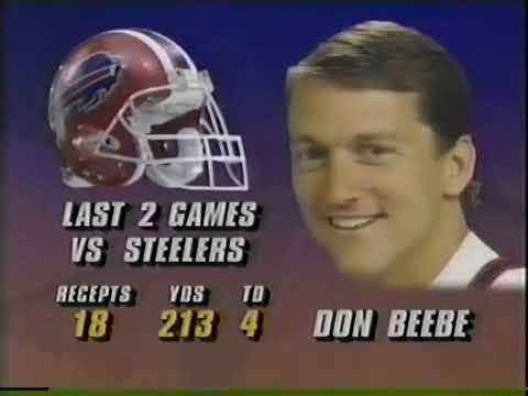 1992 -  AFC Divisional Playoff - Buffalo Bills at Pittsburgh Steelers