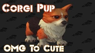 WOW Legion Corgi Pup | Timewarped Badges