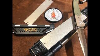 WorkSharp guided sharpening system DK