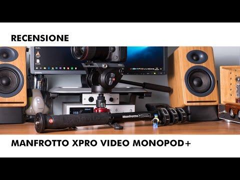 Recensione monopiede Manfrotto XPRO Video Monopod+