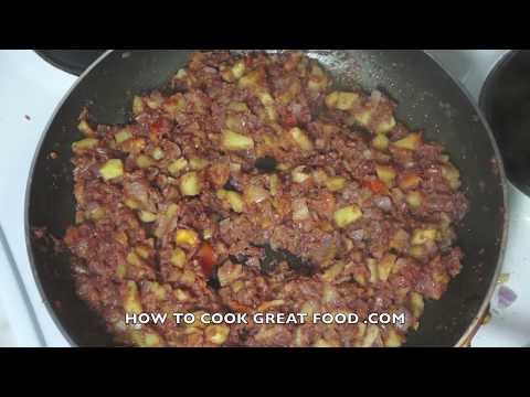 How To Make Corned Beef Hash - Corned Beef Hash Recipe - Canned Beef Hash