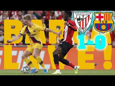 Athletic Club 1 - 0 Barça | BARÇA LIVE: Warm up & Match Center