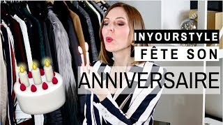 Cover images INYOURSTYLE FÊTE SON ANNIVERSAIRE ! 🎂