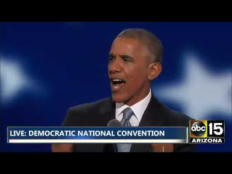 President Obama says #FEELTHEBERN - Compliments Bernie Sanders supporters - DNC