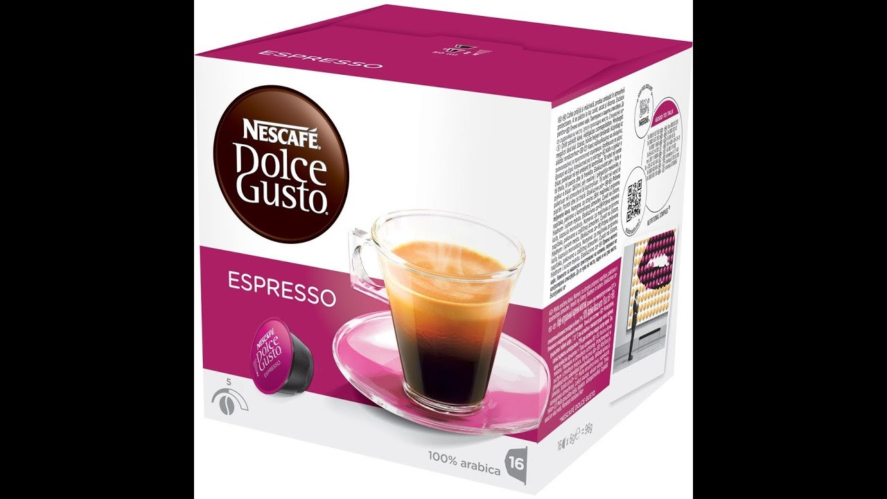 making nescafe dolce gusto espresso mini me youtube. Black Bedroom Furniture Sets. Home Design Ideas