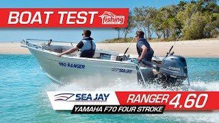 Tested   Sea Jay Ranger 4.6 with Yamaha 70HP Tiller