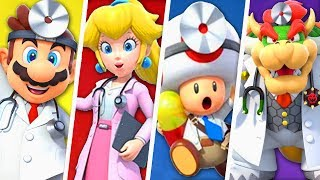 evolution of super mario doctors 1990 2019