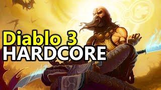 ♥ My First Hardcore Monk (Diablo 3 Gameplay)