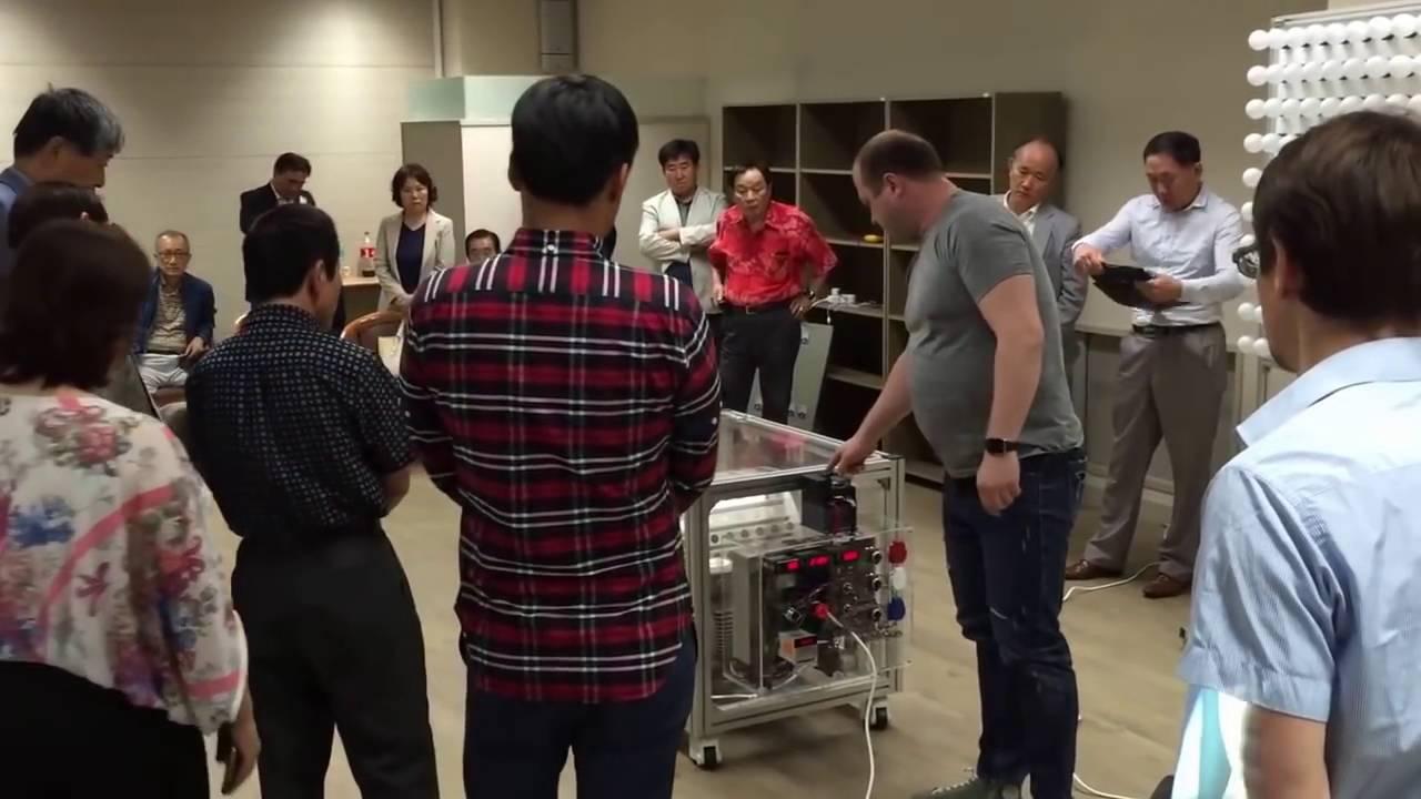 Магнитный генератор -  ротовертер на испытаниях