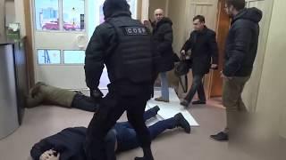 Оперативная съемка задержания на Ярославском шоссе 116