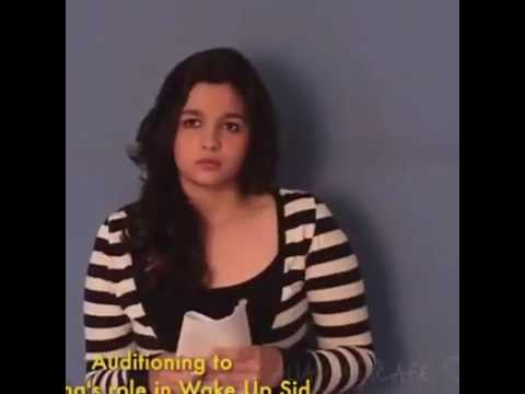 Alia Bhatt's Audition for Wake Up Sid ! [LEAKED] - HD