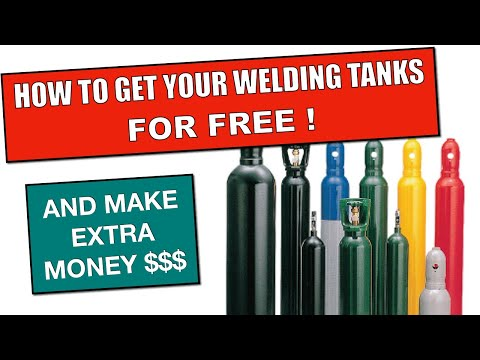 How to get your used Welding Tank for FREE !!! and make extra money $$$