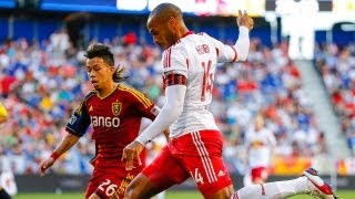 HIGHLIGHTS: New York Red Bulls vs. Real Salt Lake | July 27, 2013