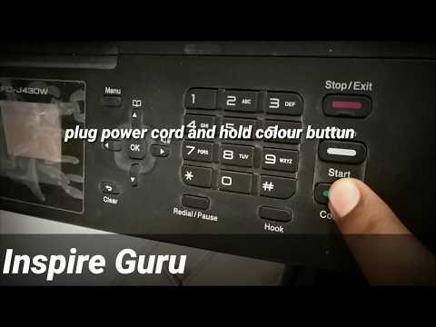 Ink absorber full brother printer model mfc-j430w