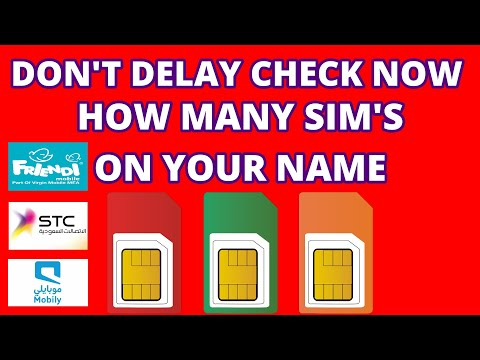 How To Check Sim Registered On Id Card
