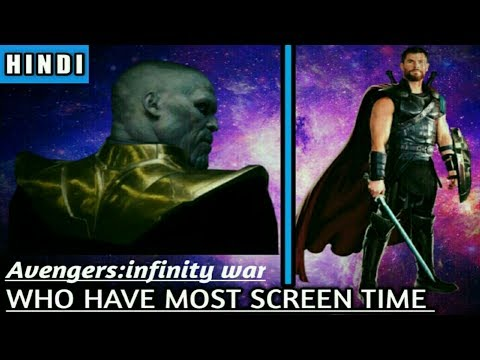 Thor and Thanos have the most screen time  SuperHuman Talks [Explained in Hindi]