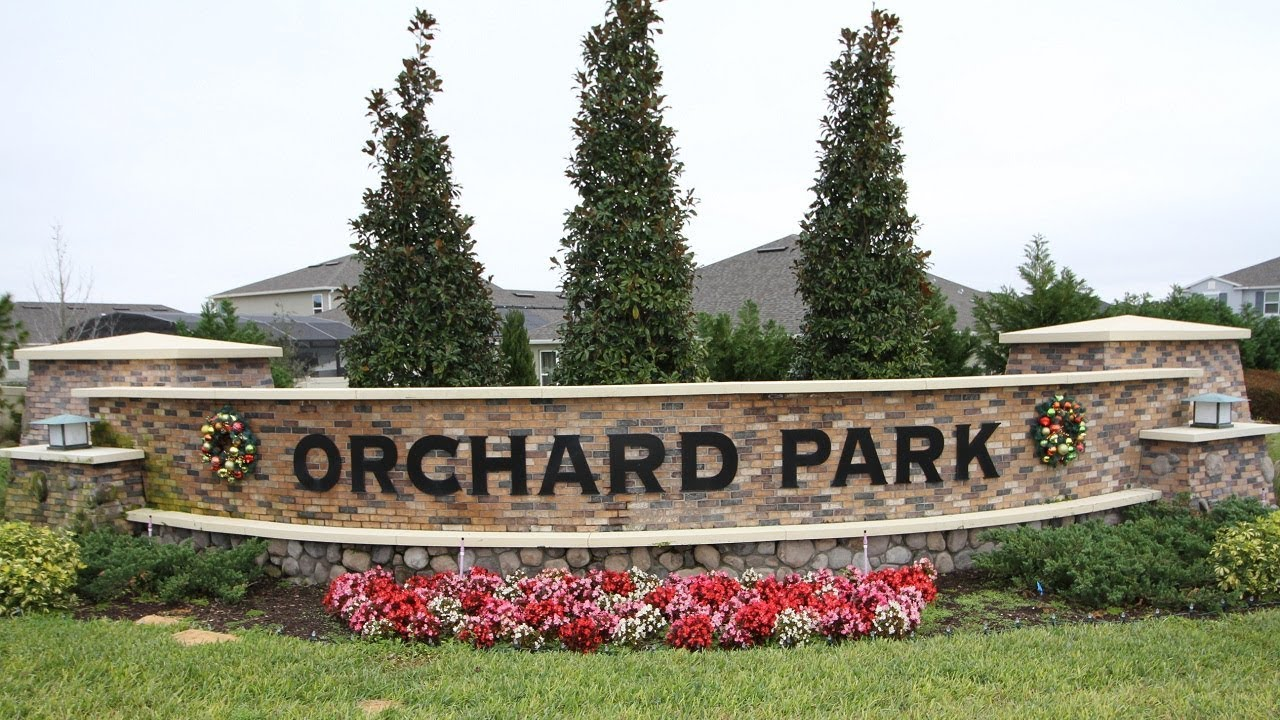 orchard park winter garden florida homes for sale youtube