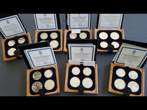 My Best Siver Coins; Canadian Olympic Coins 1976 Proof Set