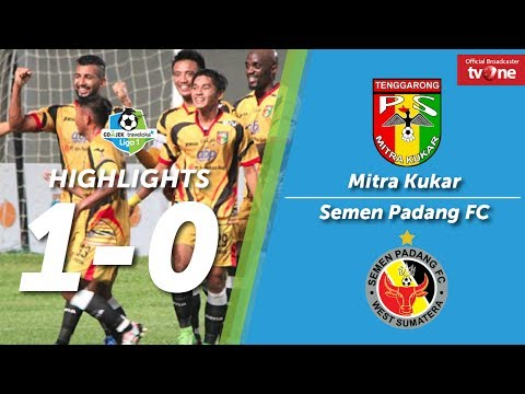 Mitra Kukar vs Semen Padang FC: 1-0 All Goals & Highlights