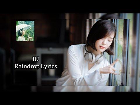 IU RAINDROP Japanese ver  Kanji Romanji Eng Lyrics