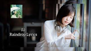 Gambar cover IU RAINDROP Japanese ver  Kanji Romanji Eng Lyrics