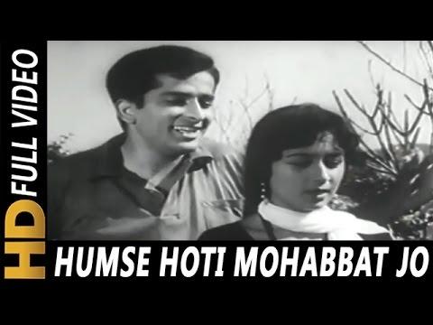 Humse Hoti Mohabbat Jo Tumko | Asha Bhosle, Mukesh | Mohabbat Isko Kahete Hain Songs | Shashi Kapoor