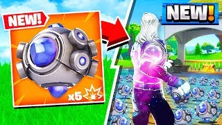 FORTNITE BATTLE ROYALE *NEW* SHOCKWAVE GRENADE GAMEPLAY! (Patch v5.30)