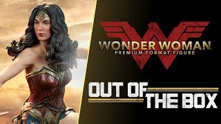 Out of the Box: Gal Gadot Wonder Woman Premium Format Figure - Exclusive Edition