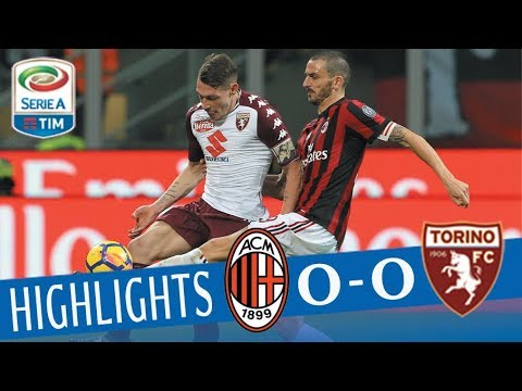 Milan - Torino 0 - 0 - Highlights - Giornata 14 - Serie A TIM 2017/18
