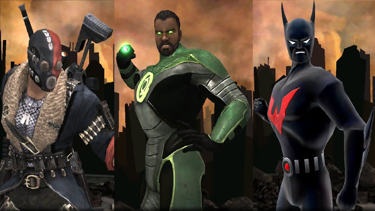 how to get batman beyond in injustice android