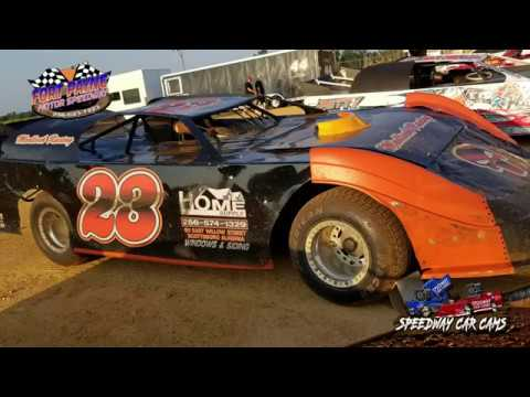 #23 Cody Medlock - Sportsman - 8-11-18 Fort Payne Motor Speedway - In Car Camera