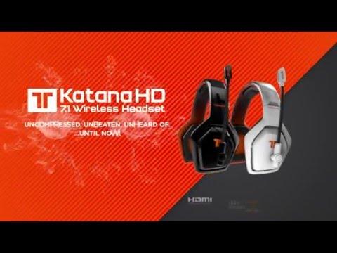 Katana™ 7.1 HD Wireless Headset