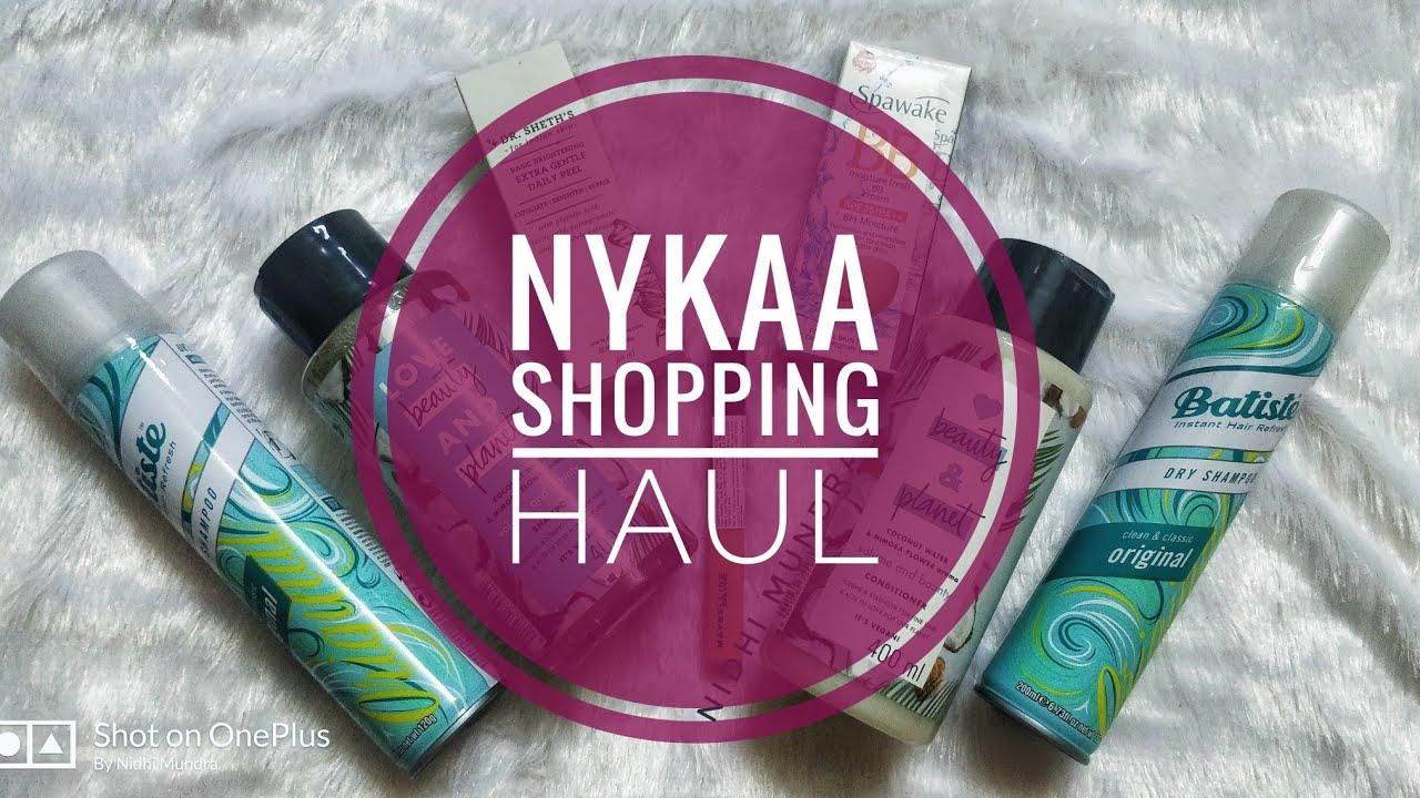 Nykaa Shopping Haul