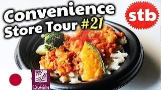 Japanese Convenience Store Food Taste Test // Healthy Food Haul in Japan
