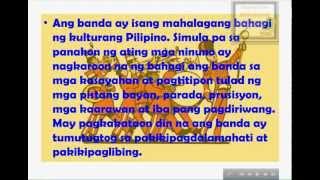 Mga Instrumentong Bumubuo ng Banda - Interactive Music Lesson Module