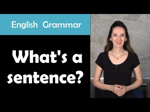 English Grammar: What