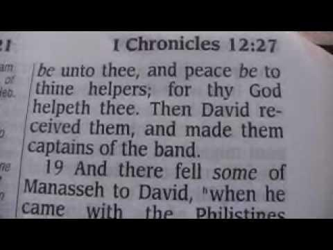 1 Chronicles 12 Holy Bible (King James)