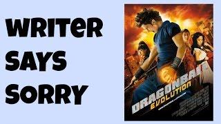 Dragon Ball Evolution Writer Apologizes To The Fans!