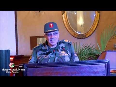 لقاء مفتوح مع السيد اللواء أحمد العزازي رئيس الشعبة الهندسية بالمنطقة الشمالية