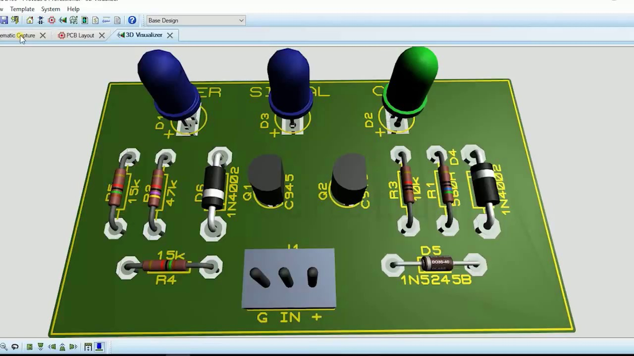 Clip Indicator For Power Amplifier Amp T Circuit Diagram Audioclippingdetectorcircuitjpg Schematic Pcb 3d Visual